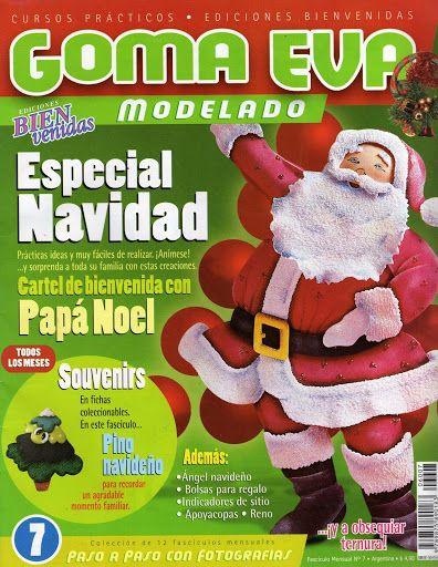 revista goma eva, Especial Navidad