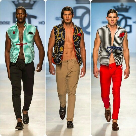 Goose Homme Prorsum SS15 collection fresh off the runway looks