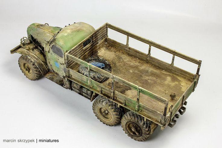 Egyptian Zil-157 1/35 Scale Model