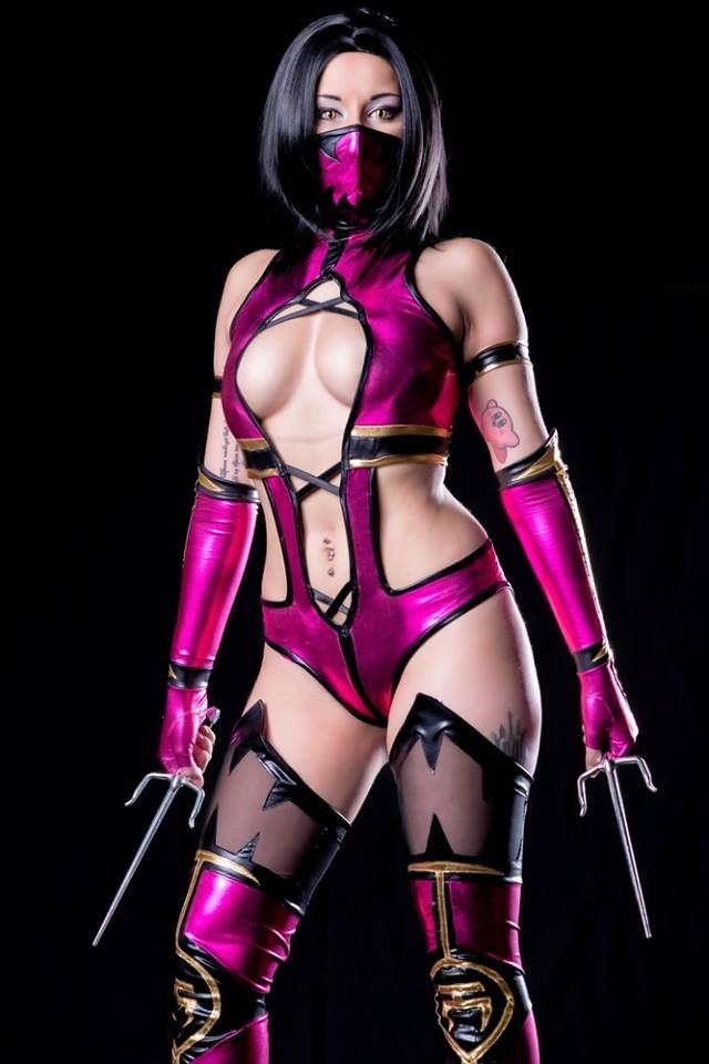Nude mileena mortal kombat cosplay