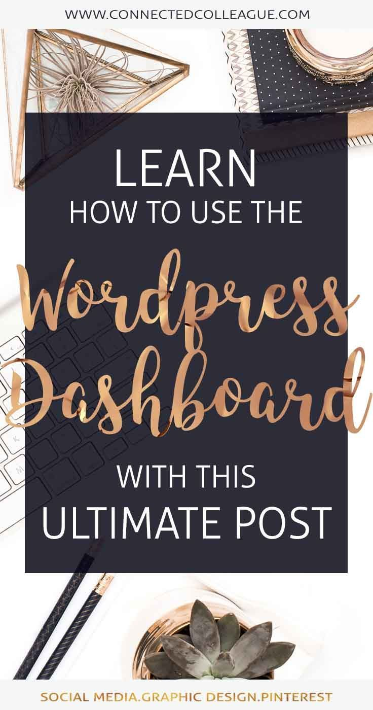 Blogging for beginners 101 tips: Your Guide to WordPress Basics - WordPress knowledge for beginners
