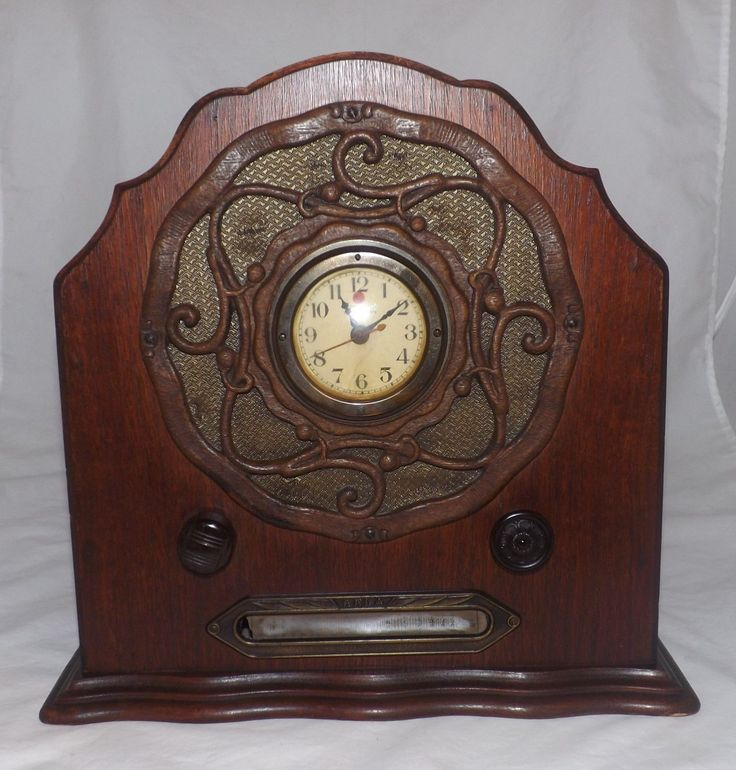 Details about Beautiful Vintage 1930s Erla Radio Clock ...