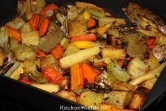 Geroosterde groenten uit de braadslee - Keuken♥Liefde