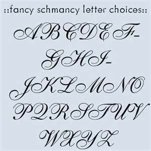 Fancy Letter Maker