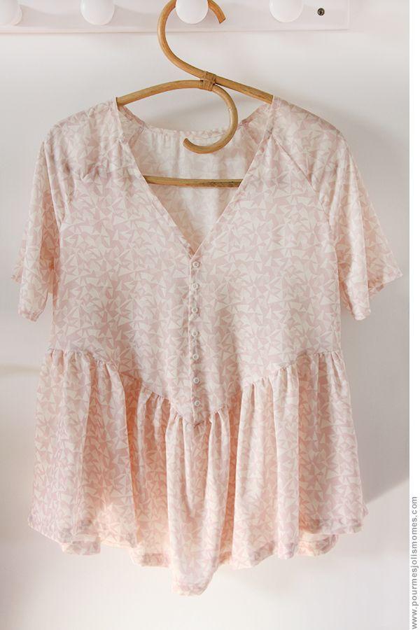 pour mes jolis mômes, mais pas que... d'après le patron de la robe Caroline de République du Chiffon modifié #couture #homemade