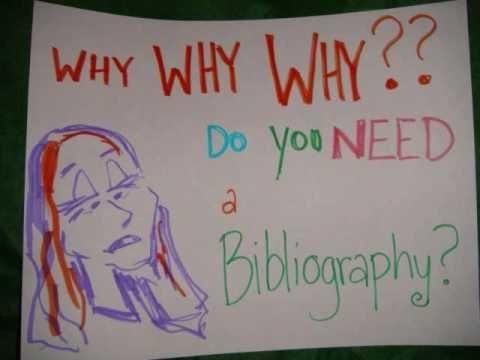 Do you write a biliography