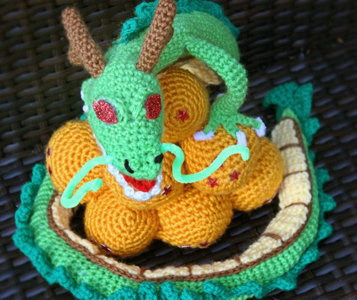 Dragon Ball Z Crocheted for drag queen! [No pattern, all freehand]