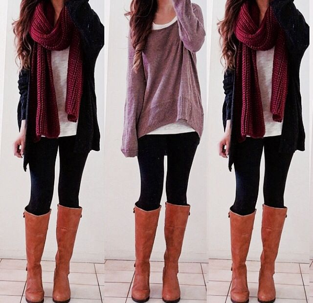 Comfy Winter outfits