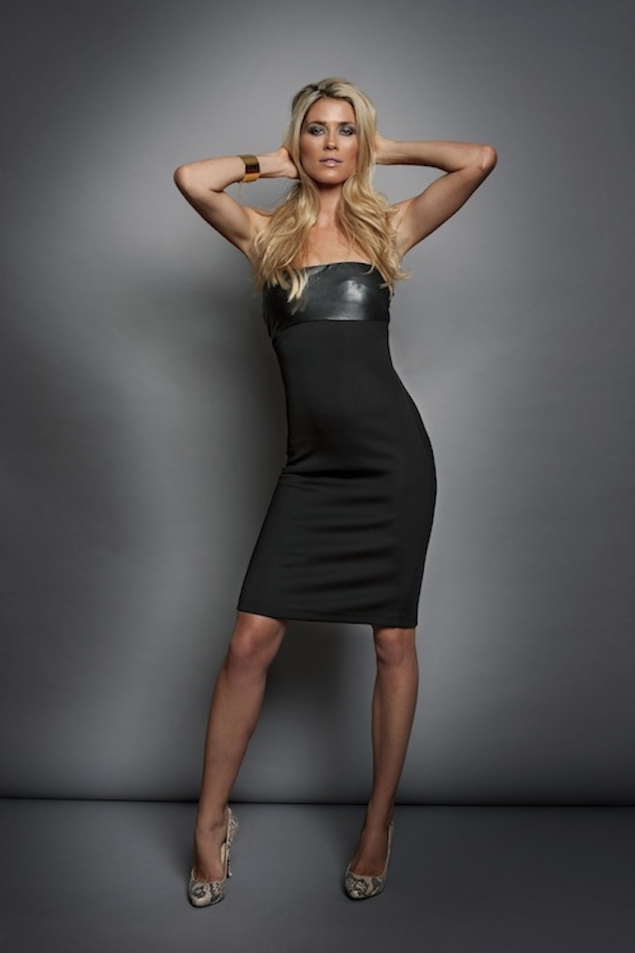 Leather Tube Dress AW11 www.shopcameo.com
