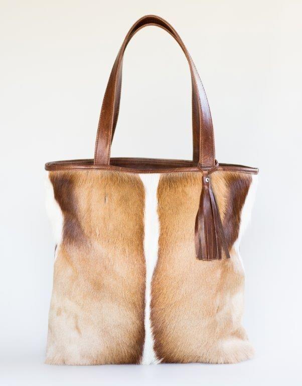 Mally Gazelle leather tote handbag