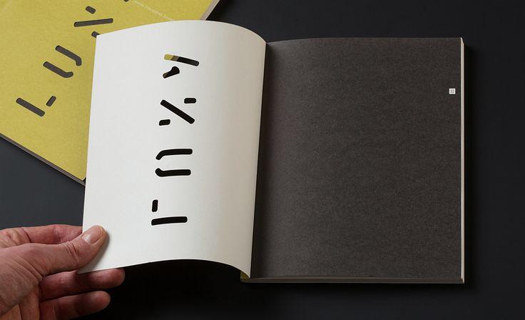 "Magazine of new Latvian literature ""LUNA"" on Behance"