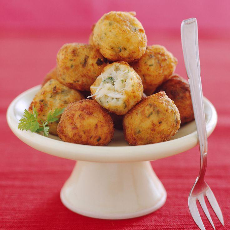 Découvrez la recette Croquettes de morue sur cuisineactuelle.fr.