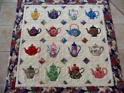 77 Best Teacup Amp Teapot Quilts Images On Pinterest Tea