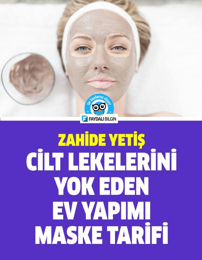 Zahide Yetiş'in Cilt lekelerini yok eden ev yapımı maske tarifi – Faydalı Bilgin
