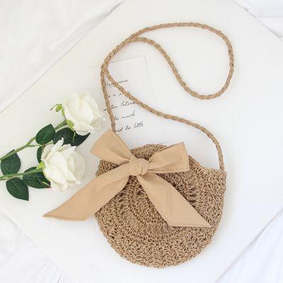 Special treatment preferential straw beach bag mini handbags s rattan purses bali bohemian