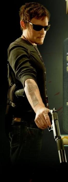 Murphy MacManus - The Boondock Saints, not much is better than a stud with a gun...except maybe a stud with a crossbow...