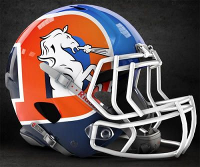 Ranking the best Broncos helmets — past, present and proposed