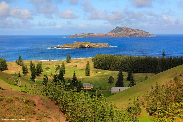 Phillip Island & Nepean Island From Rooty Hill, Norfolk Island | Flickr - Photo Sharing!