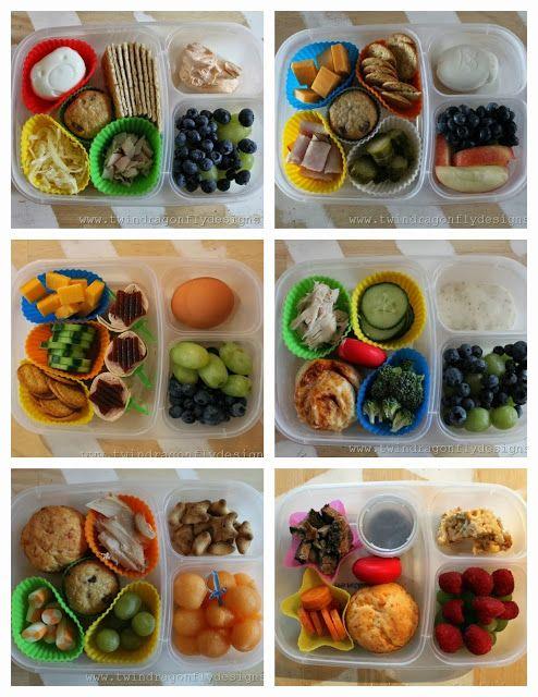 Non-sandwich bento lunches
