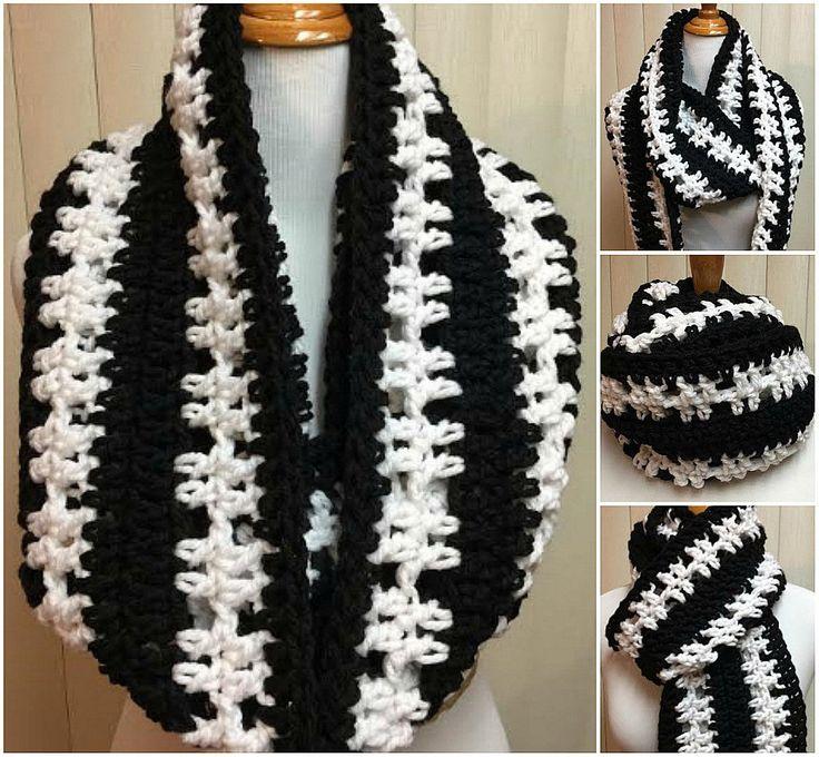 Best 50+ Crochet Infinity Scarves images on Pinterest | Zollamt ...