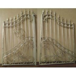 Wrought Iron Driveway Gate. Customize Realisations. 050