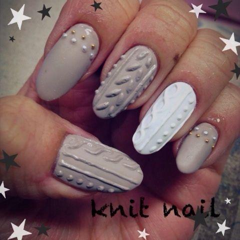「 *knit nail* 」の画像|Private Salon Liberte nail 表参道|Ameba (アメーバ)