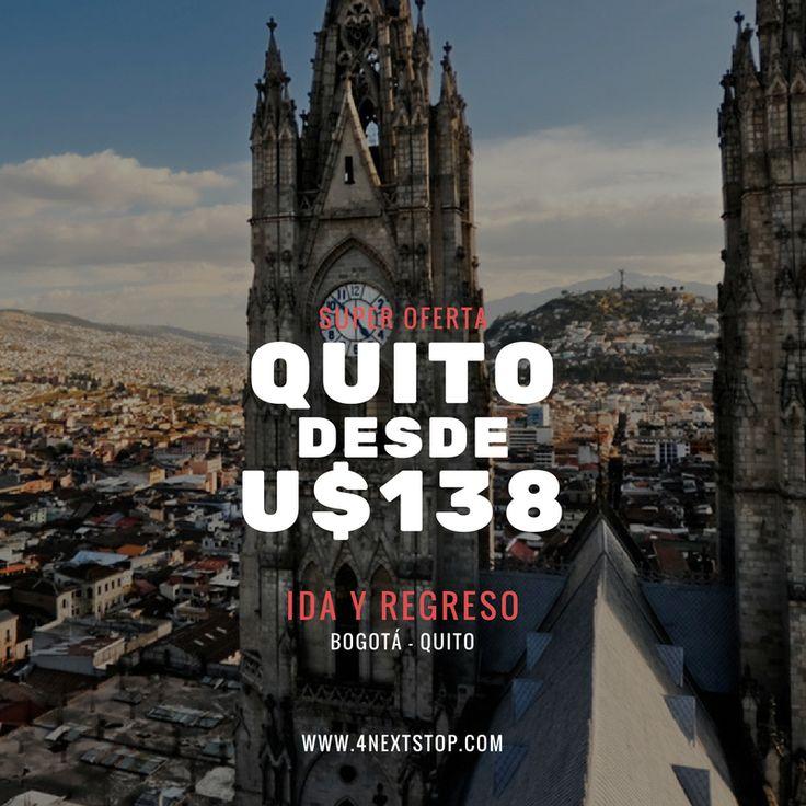 Encuentra las mejores ofertas para tus viajes ... Bogota - Quito ida y regreso!! solo u$138 http://bit.ly/2fAvNad #travel #traveling #TagsForLikes #TFLers #vacation #visiting #instatravel #instago #instagood #trip #holiday #photooftheday #fun #travelling #tourism #tourist #instapassport #instatraveling #mytravelgram #travelgram #travelingram #igtravel