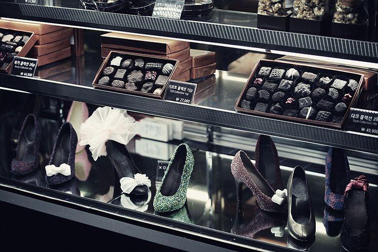 Fashionably elegant chocolate treats by Rocky Mountain