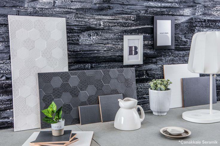 Düz, geometrik ve çizgili... Modern desenleriyle kullanıldığı her mekana enerji katan Grafen Serisi. #seramik #tasarım #evdekorasyon #dekorasyonfikirleri #designideas #designinspiration #designart #designbathroom #desenler #ceramics #tiles #tilefloor