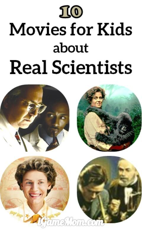 10 kids movies about real scientists -- great stories to inspire your young scientists and everyone to be scientifically curious, persevere over hardships, and work hard. Wonderful ideas for movies for kids for the summer.
