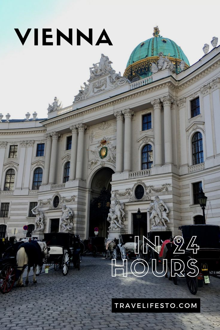 Vienna is full of beautiful sights so no wonder if you cannot decide what to include in your trip when you only have 24 hours in the city. I'm here to help you!