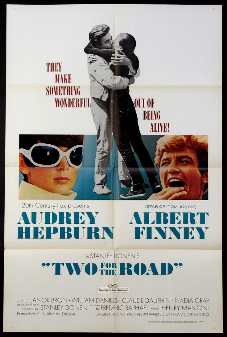 Two for the Road, a delightful movie with Audrey Hepburn and Albert Finney.