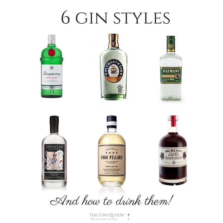 6 Gin Styles and How to Drink them is a ittle guide, outlining the styles and and most importantly, how to drink them!