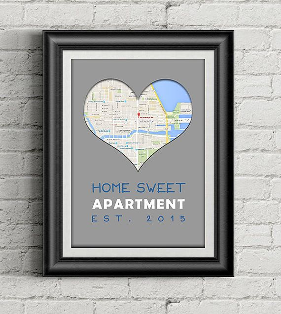 Housewarming or Apartment-warming Gift New Home Gift by 1024Decor