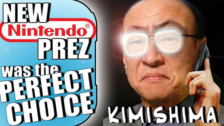 Tatsumi Kimishima is the Perfect President for Nintendo | Discussion — G...