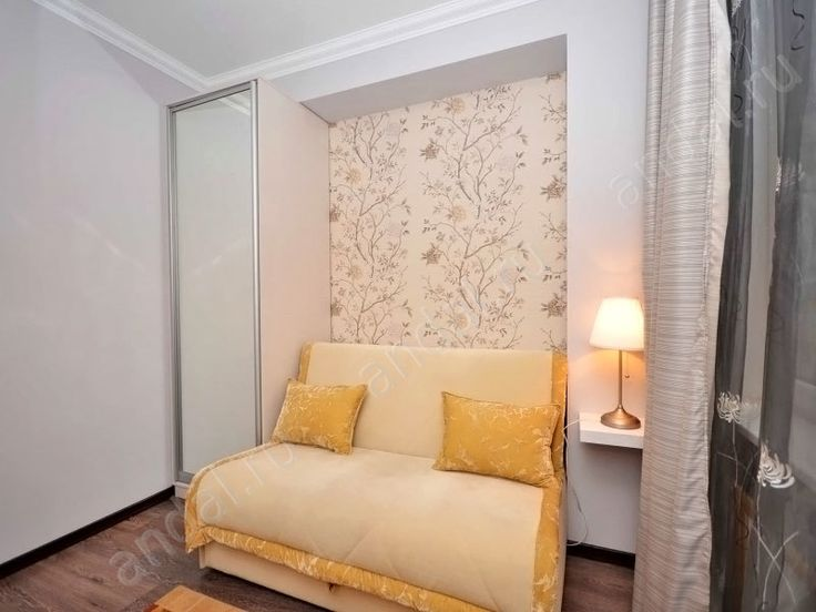 Ремонт типовой квартиры. Ниша из гипсокартона в стене.   Фотогалерея - примеры ремонта и отделки квартир фото, дизайн-проекты интерьера фото