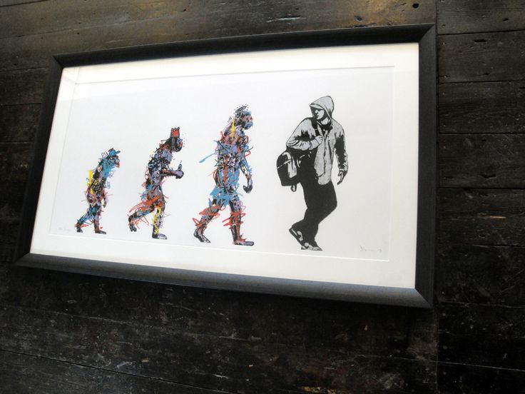 Evolution by DOLK is a Signed Limited Edition Print. All Epoch Art Gallery prints include FREE UK delivery.
