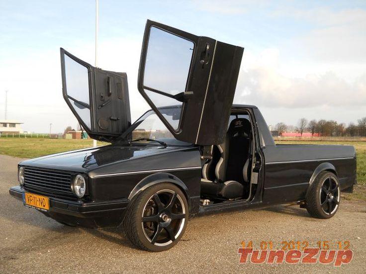 te koop nette volkswagen caddy pick up photo 24817  Caddy Mk1