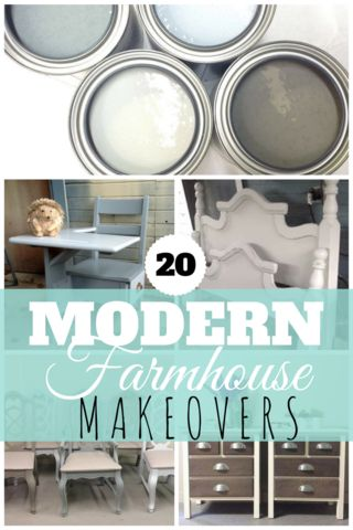 Modern Farmhouse paint collection by Superior Paint Co. furniture refinishing by our retailiers