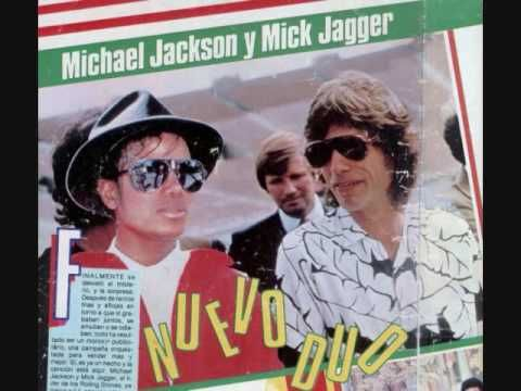 Michael Jackson and Mick Jagger ~ State of Shock  one of my faves as a young kid.