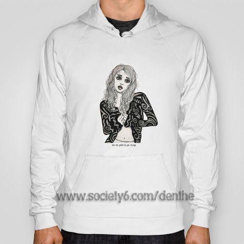 hoodie http://society6.com/denthe