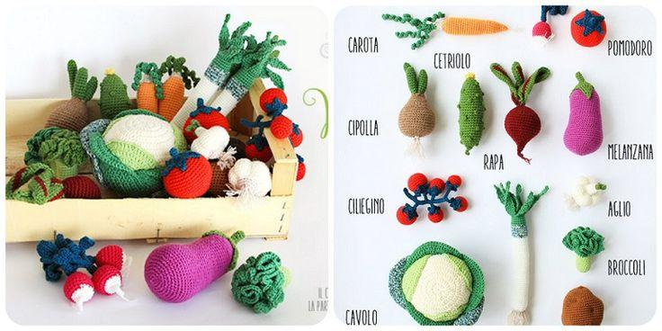 schemi verdure a uncinetto spiegazioni