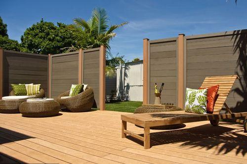 #waterproof #fence panels,  high vinyl fence, wood plastic composite #fence on sales