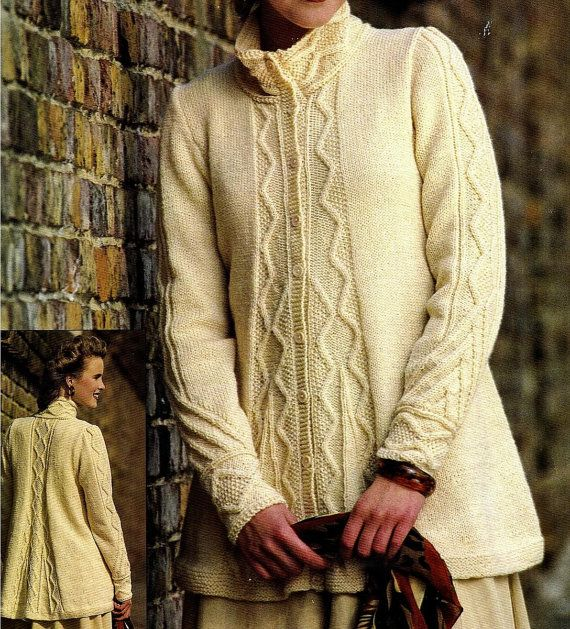1000+ images about aran jacket on Pinterest Knitwear ...
