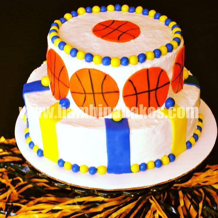 Birthday Cake Inspired By Golden State Warriors Bambina