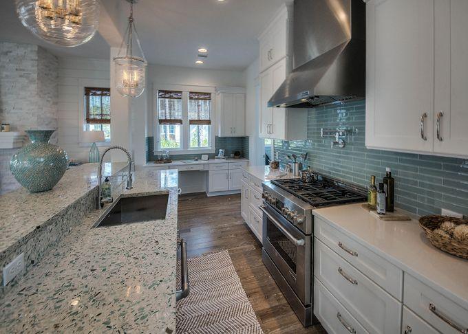 coastal-inspired kitchen | David Weekley Homes