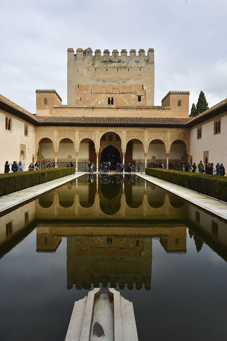 Alhambra i Granada, Spania.
