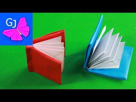 Mini Modular Origami Book Tutorial - YouTube
