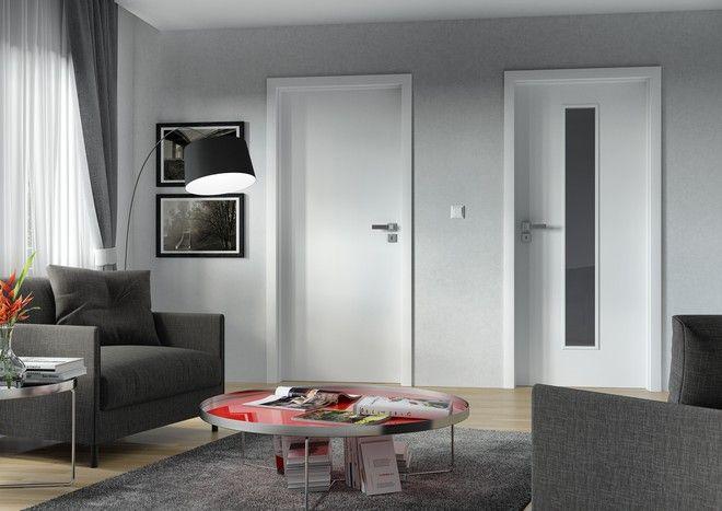Vnitřní dveře Sapeli - ELEGANT bílé dveře
