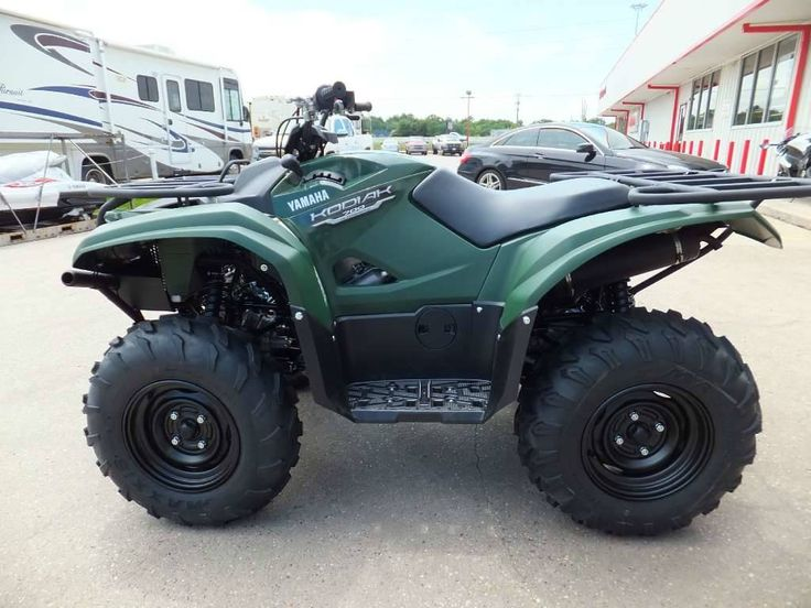 2016 Yamaha Kodiak 700 Hunter Green, Humble TX - - ATVTrader.com